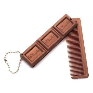 Расческа (складная) Шоколад