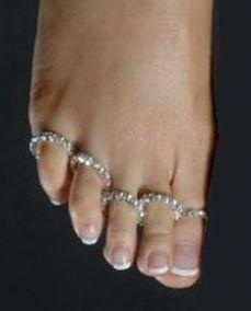 Колечки для пальцев ног