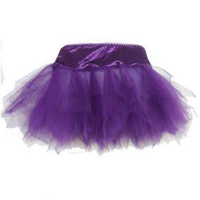 Фиолетовый подьюбник с неровными краями