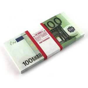 Блокнот 100 евро