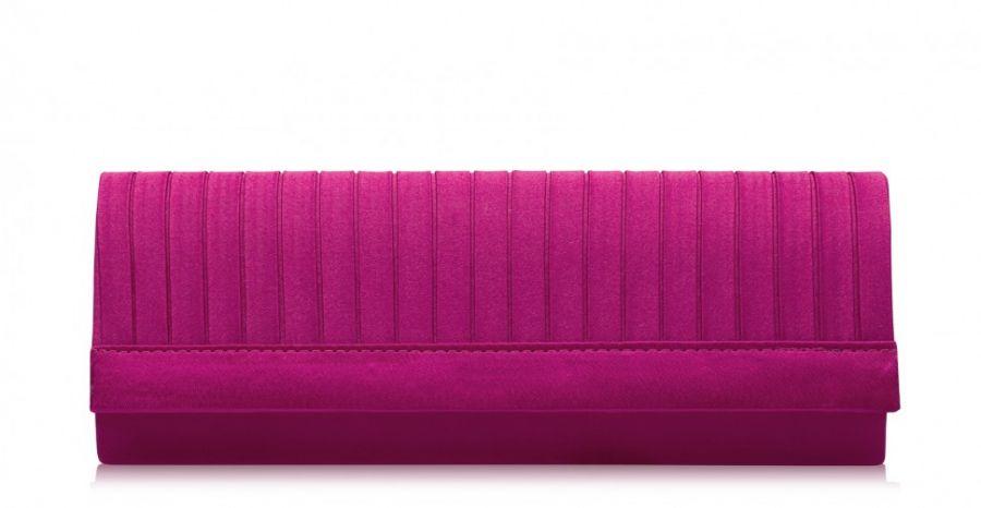 Розовый клатч