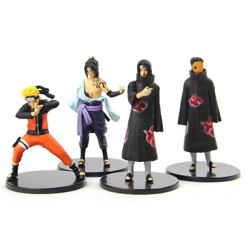 """Набор фигурок по аниме """"Naruto"""" ver. 2"""