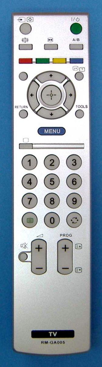 Пульт для Sony RM-GA005 (TV) (KLV-26S200, KLV-32A200A,  KLV-32V200A, KLV-40S200)