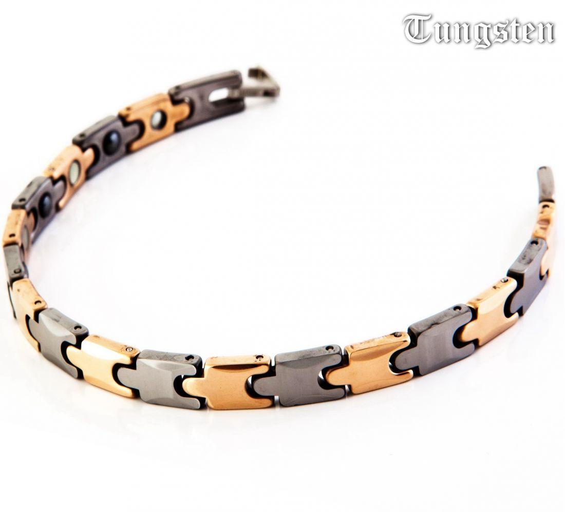 Женский магнитный браслет из вольфрама