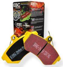 Тормозные колодки EBC, передний к-кт для OPC, серия Yellow Stuff