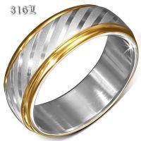 Кольцо из ювелирной стали 316L