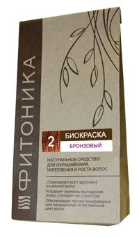 Биокраска Фитоника №2 «Бронзовый цвет», 30 гр.