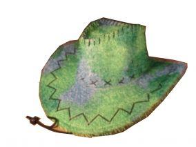Ковбойская шляпа с меховым ворсом