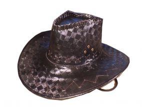 Ковбойская кожаная шляпа