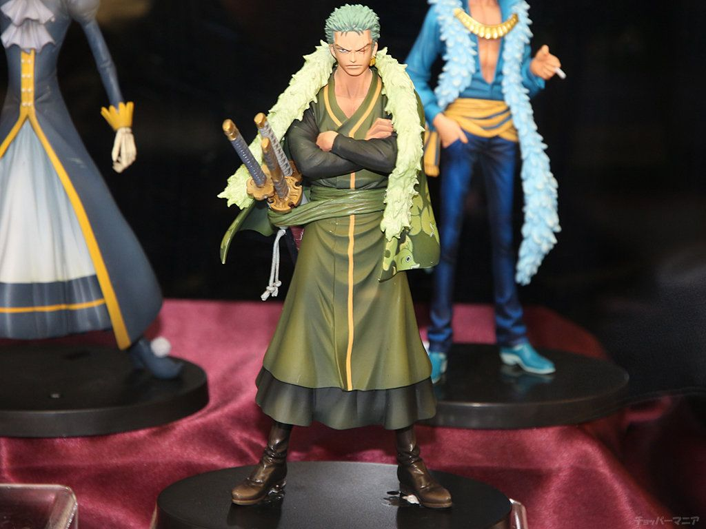 Фигурка One Piece: The Grandline Men 15th Zoro (Premium)