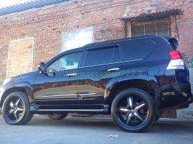 Аэродинамические пороги (Тип 1) для Toyota Land Cruiser Prado 150