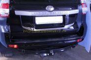 Хромированная накладка под номер (Тип 2) для Toyota Land Cruiser Prado 150 2013 -
