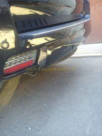 Задние противотуманные фары диодные (Затемненные) для Toyota Land Cruiser Prado 150