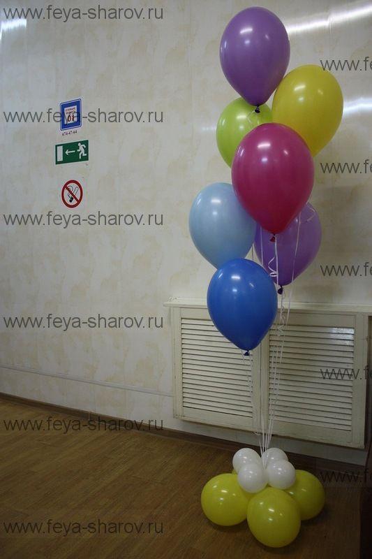 Фонтан шаров (7 шаров)