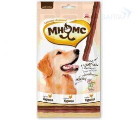 """""""Мнямс"""" - лакомые палочки для собак с говядиной, курицой или ягненком, 45 г."""