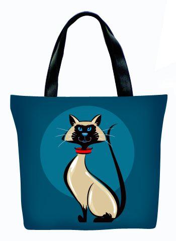 Женская сумка ПодЪполье Blue siam