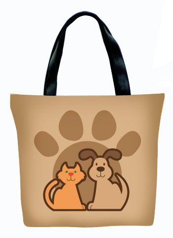 Женская сумка ПодЪполье Cat&dog