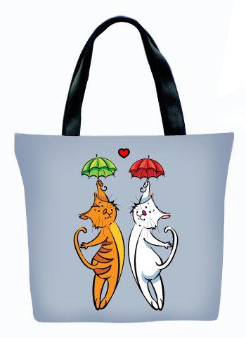 Женская сумка ПодЪполье Two cat`s
