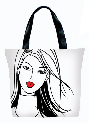 Женская сумка ПодЪполье Lips