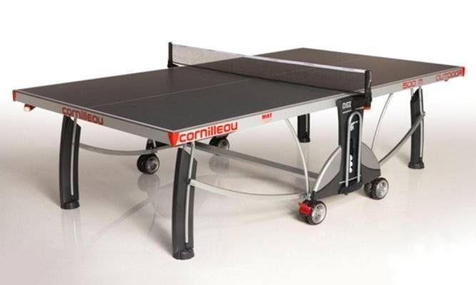Всепогодный теннисный стол Cornilleau Sport 500 M Outdoor серый