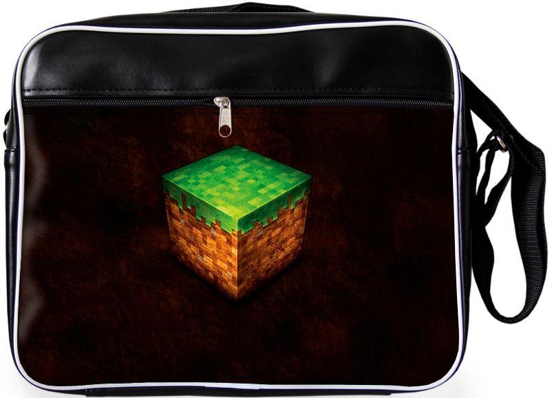 """Молодежная сумка """"ПодЪполье"""" Minecraft-7"""