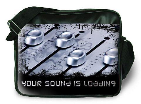 """Молодежная сумка """"ПодЪполье"""" Your sound is loading"""