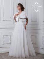 Свадебные накидки из белой норки купить