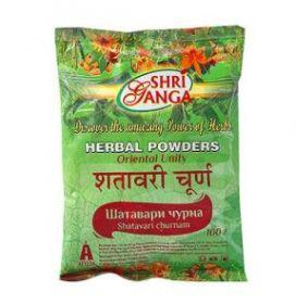 Шатавари чурна / Shatavari churnam Shri Ganga Pharmacy 100г