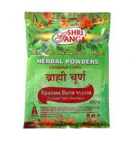 Брахми Вати чурна / Brahmi Vati churnam Shri Ganga Pharmacy 100г