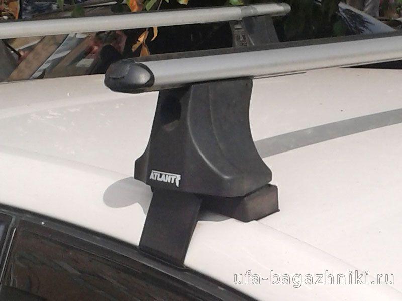 Багажник на крышу Volkswagen Golf Plus, Атлант, аэродинамические дуги