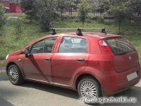 Багажник на крышу Fiat Punto, Атлант, прямоугольные дуги