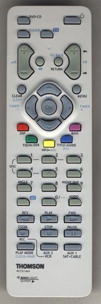 Пульт для Thomson RCT-311 AAM1/AC1 (Theater 5 disc)