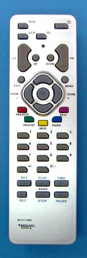 Пульт для Thomson RCT-311 TAM1 (TV) (30LCDB03BBK , 14CT180 , 15LCDM03B , 20LB020S4 , 20LB040S5 , 20LB120S4 , 20LB125B4 , 20LCDB030B , 20LCDM03B , 20LM120S4 , 21DC320 , 21DT175 , 21DT190 , 23LB020S4 , 25DC182, 26LB040S5 , 27LB120S4 , 27LCDB03B)