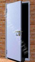 Металлические технические двери дешево Металл с 1-ой стороны в НЦ