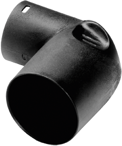 Угольник D 32/27 DAG/90°-AS