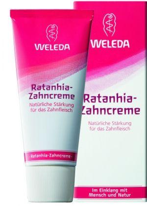 """WELEDA Растительная зубная паста """"Ратания"""", 75 мл"""