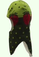 Шлем Vilukissa Strawberry 100% шерсть