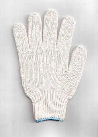 перчатки рабочие хб 4 нити 7 класс  без пвх
