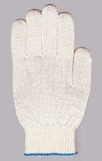 перчатки рабочие хб 5 нитей 10 класс супер люкс без пвх