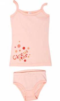 Персиковый комплект для девочки Цирк