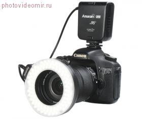 Светодиодная кольцевая вспышка Aputure Amaran Halo HN100 для Nikon