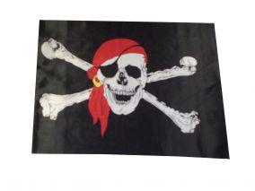 Пиратский флаг размеры 90х60см