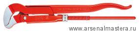Клещи трубные с S-образным смыканием губок (Ключ трубный угловой) KNIPEX 83 30 005