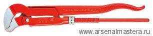 Клещи трубные с S-образным смыканием губок (Ключ трубный угловой) KNIPEX 83 30 010