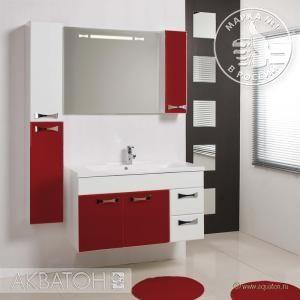 Мебель для ванной комнаты Акватон Диор 100