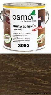 """Цветное масло с твердым воском Osmo Hartwachs-Ol Farbig слабо пигментированное """"Эффект металлик"""" 3092 Золото, 2,5л"""