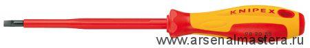 Отвертка для винтов с шлицевой головкой KNIPEX 98 20 30