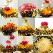 Вкусные и красивые цветущие чаи