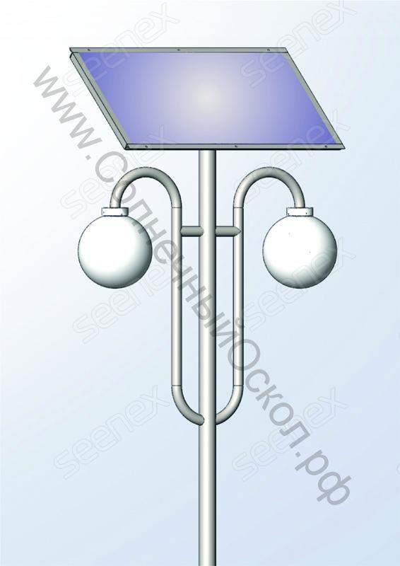 Автономный парковый светильник AVSL 20-П