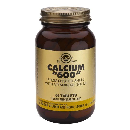 Солгар Кальций 600 из раковин устриц (60 таблеток)